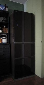型落ち冷蔵庫